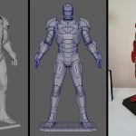iron man 3d to 3d print